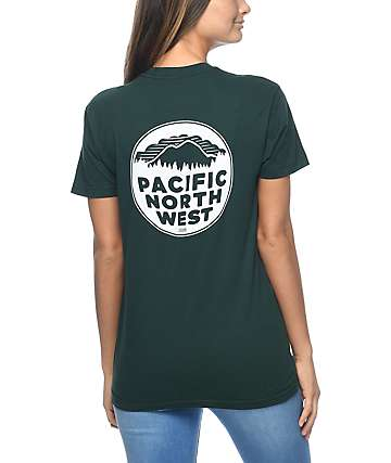 Casual Industrees PNW Forest Green T-Shirt