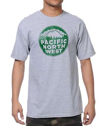 Casual Industrees PNW camiseta gris