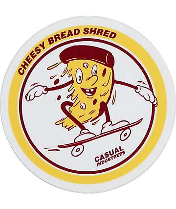 Casual Industrees Pizza Shred Sticker