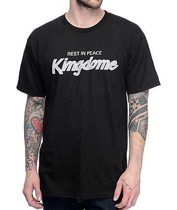 Casual Industrees R.I.P. Kingdome Black T-Shirt