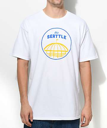 Casual Industrees SEA Old Seattle White T-Shirt