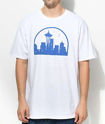 Casual Industrees SEA Seattle Nights camiseta blanca