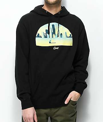 Casual Industrees SEA Skyline Arch Black Hoodie