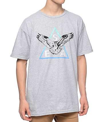 Casual Industrees SEA Triad 2.0 Fade Heather Grey T-Shirt