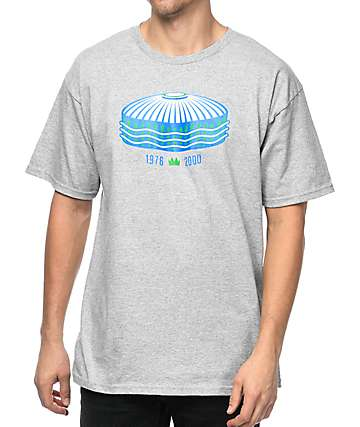 Casual Industrees Sea-K Dome Heather Grey T-Shirt