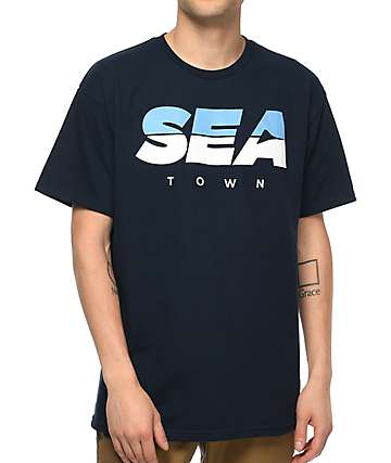 Casual Industrees Seattle Concorde Navy T-Shirt