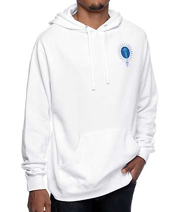 Casual Industrees Seattle Sportsmen Club White Hoodie
