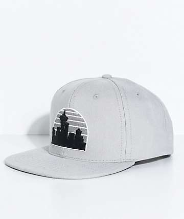 Casual Industrees Skyline Grey Snapback Hat