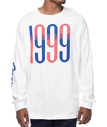 Casual Industrees The Fleet White Long Sleeve T-Shirt