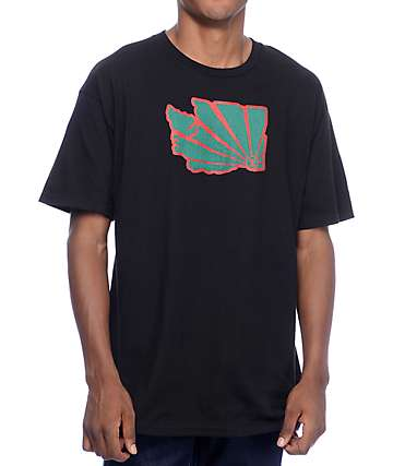 Casual Industrees WA Brah Black T-Shirt