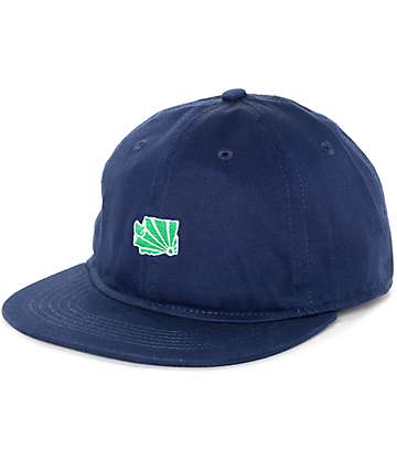 Casual Industrees WA Brah Mini Navy Strapback Hat