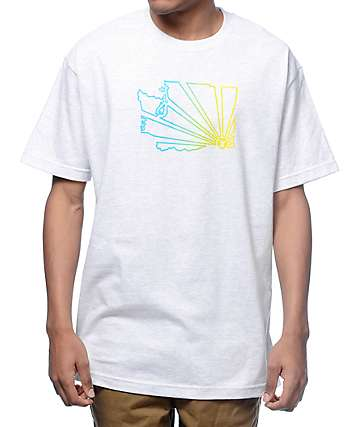 Casual Industrees WA Brah Outline Fade Ash T-Shirt