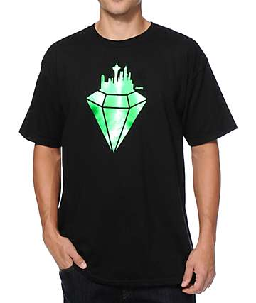 Casual Industrees WA Emerald City Foil T-Shirt