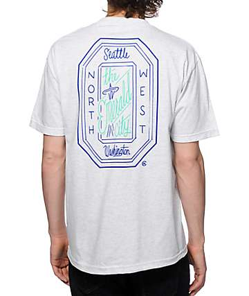 Casual Industrees WA Emerald Script T-Shirt