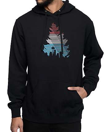 Casual Industrees WA Johnny Tree Black Hoodie
