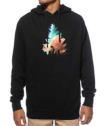 Casual Industrees WA Johnny Tree Galaxy Hoodie