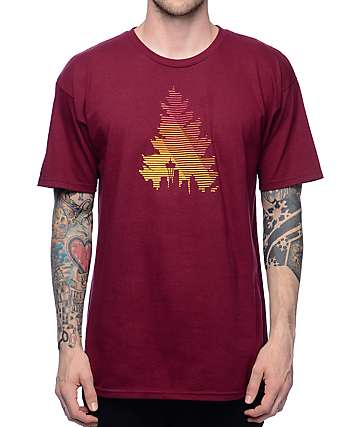 Casual Industrees WA Johnny Tree Lines T-Shirt
