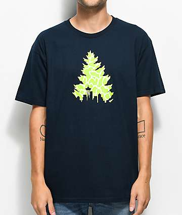 Casual Industrees WA Johnny Tree Navy T-Shirt