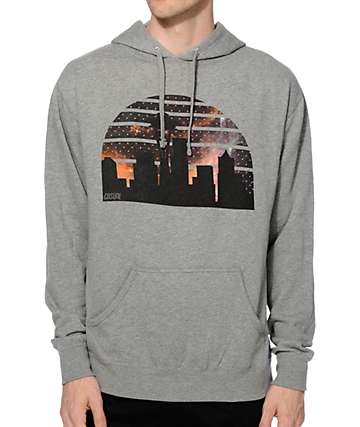 Casual Industrees WA Seattle Skyline Arch Galaxy Hoodie