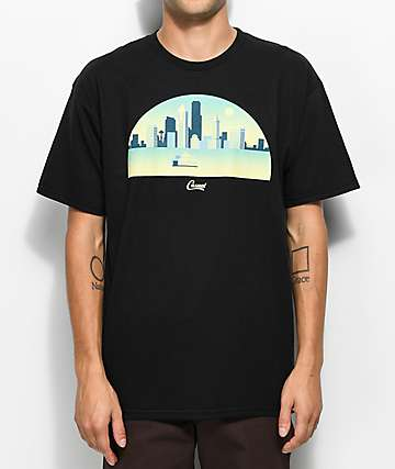 Casual Industrees WA Skyline Arch 3D Black T-Shirt