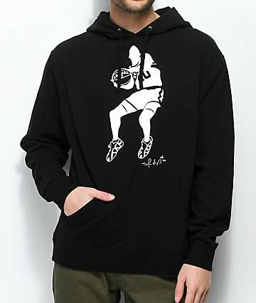 Casual Industrees WA Windmill Black & White Hoodie