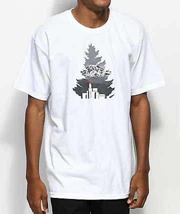 Casual Industrees x Rainier Johnny Tree White T-Shirt