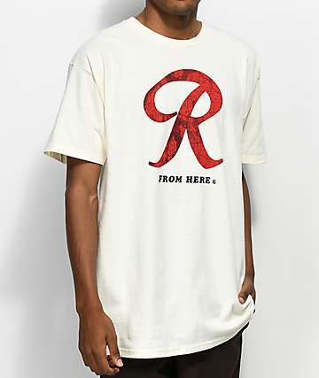 Casual Industrees x Rainier R Map Cream T-Shirt