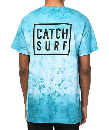 Catch Surf Get Stacked Washed Blue T-Shirt