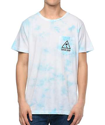 Catch Surf Island Blue Cloud Pocket T-Shirt