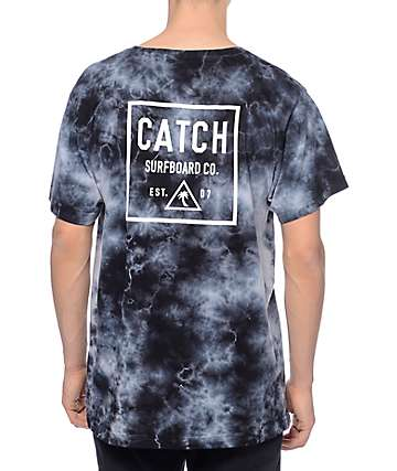 Catch Surfboard Co Mullet Grey Tie Dye T-Shirt
