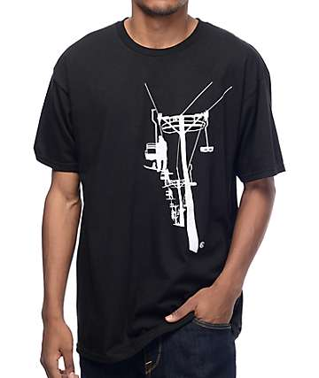 Causal Industrees NW Chairlift Black T-Shirt