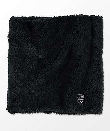 Celtek 5505 Black Sherpa Neck Warmer