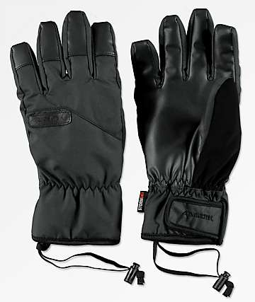 Celtek Ace Under Glove Black Snowboard Gloves
