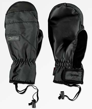 Celtek Ace Under Mitten Black Snowboard Mittens