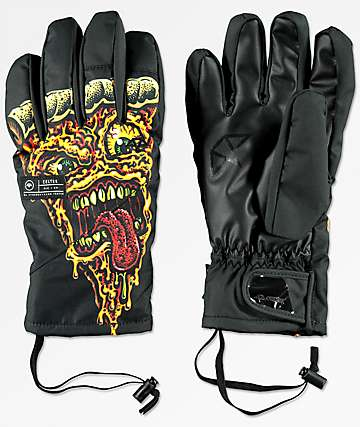 Celtek El Nino Under Glove Pizza Gore-Tex Snowboard Gloves