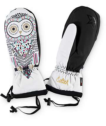Celtek Gallery Owl Women's Snowboard Mittens