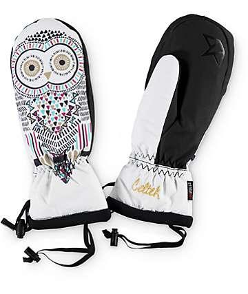 Celtek Gallery Owl Womens Snowboard Mittens