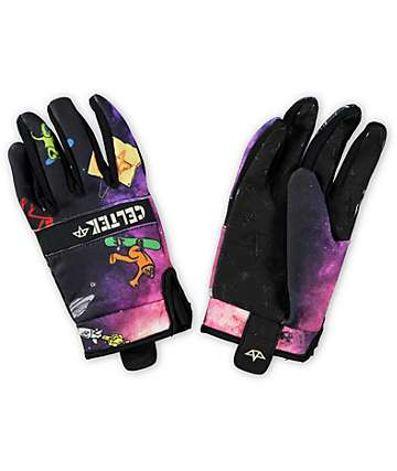 Celtek Misty Spaced Out Pipe Snowboard Gloves