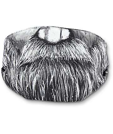 Celtek Scribble Old Man Winter Face Mask