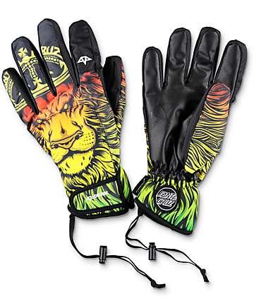 Celtek x Santa Cruz Gore-Tex El Nino Lion guantes de snowboard