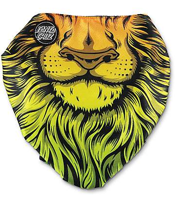 Celtek x Santa Cruz Scribble Lion God Facemask