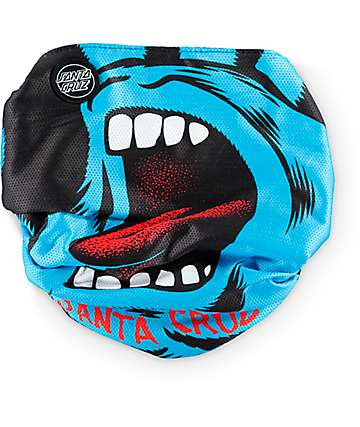 Celtek x Santa Cruz Scribble Screaming Hand Facemask