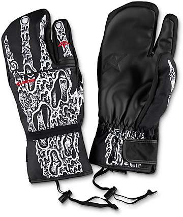Celtek x Sketchy Tank Trippin Mitten Snowboard Mittens