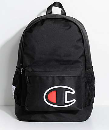 Champion C-Flight Black Backpack