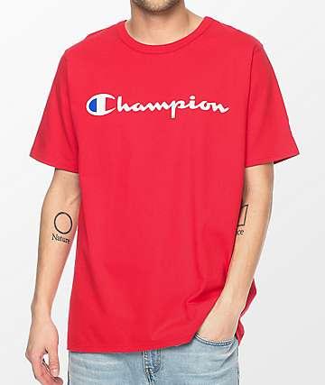 Champion GT19 Patriotic Script Team camiseta roja