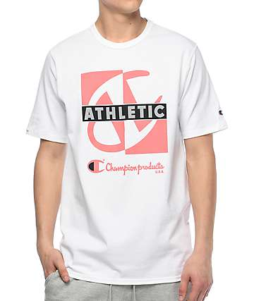 Champion Heritage Crisscross camiseta blanca