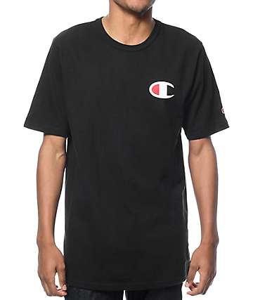 Champion Heritage Patriotic Black T-Shirt