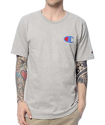 Champion Heritage Patriotic Grey T-Shirt