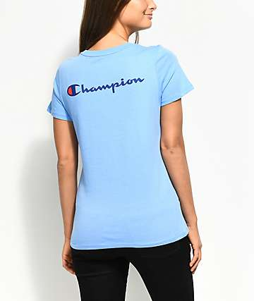 Champion Patriotic Light Blue T-Shirt