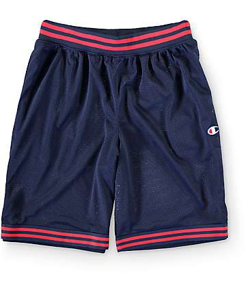 Champion Rec Navy Mesh Walkshorts